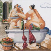 Bathing Beauty Cross Stitch Kit