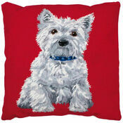 Westie Cushion Tapestry Kit