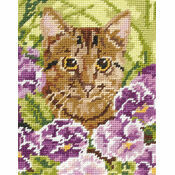 Cat Beginners Tapestry Kit