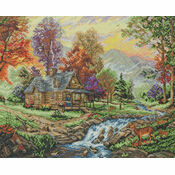 Mountain Retreat Cross Stitch Kit