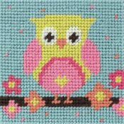 Anchor 1st Owl Tapestry Kit