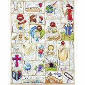 Inspirational ABC Cross Stitch Kit