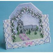 Wedding Day 3D Cross Stitch Card Kit