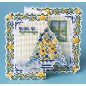 Bouquet 3D Cross Stitch Card Kit