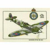 Supermarine Spitfire Cross Stitch Kit