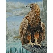 3D Eagle Cross Stitch Kit