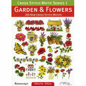 Garden & Flowers Cross Stitch Chart Book