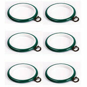"Stitch Garden Set of 6 Embroidery Flexi Hoops - Green (3"")"