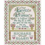 Love\'s Promise Cross Stitch Kit