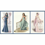 Set Of 3 Elegance Full Length Portrait Kits - Isabella, Louisa & Gabriella