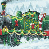 Santa Express Cross Stitch Kit