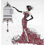 Bird Cage Cross Stitch Kit
