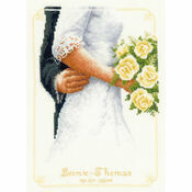 Bridal Bouquet Cross Stitch Kit