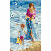 Precious Moment Cross Stitch Kit