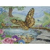 Butterfly Cross Stitch Kit