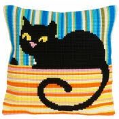 Ms Cool Cross Stitch Cushion Panel Kit