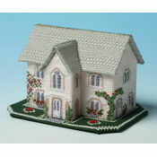 Dower House 3D Cross Stitch Kit