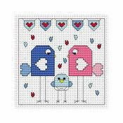 Flitters Baby Boy Cross Stitch Card Kit