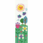 Beautiful Day Bookmark Cross Stitch Kit