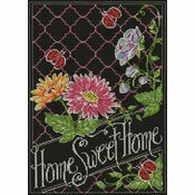 Home Sweet Home Chalkboard Cross Stitch Kit