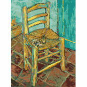 Van Gogh\'s Chair Cross Stitch Kit