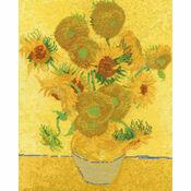 Van Gogh - Sunflowers Cross Stitch Kit