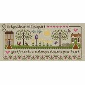 Friendship Sampler Cross Stitch Kit