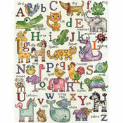 ABC Animals Cross Stitch Kit