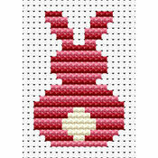 Easy Peasy Bunny Cross Stitch Kit