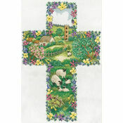 Pastoral Cross Cross Stitch Kit