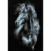 Breeze Through Mane Cross Stitch Kit