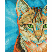 Tabby Cross Stitch Kit