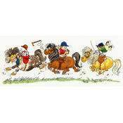 Thelwell Horse Play Cross Stitch Kit