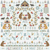 Little Bears Cross Stitch Kit