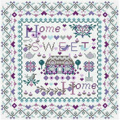 Riverdrift Home Sweet Home Cross Stitch Kit