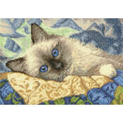 Dimensions Gold Petite Collection Charming (Cat) Cross Stitch Kit