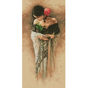 The Rose Cross Stitch Kit