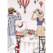 Balloon Soiree Cross Stitch Kit