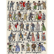 Dickens Cross Stitch Kit
