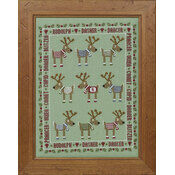 Rudolph & Friends Cross Stitch Kit