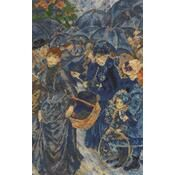 Renoir - The Umbrellas Cross Stitch Kit