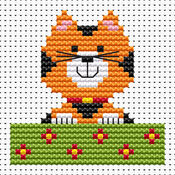 Sew Simple Cat Cross Stitch Kit
