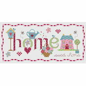 Home Garden Cross Stitch Kit