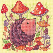 Mouse Woodland Creatures by Karen Carter from Herit Counted Cross Stitch Kit