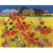 Autumn Pasture Cross Stitch Kit