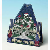 Shepherds Christmas 3D Cross Stitch Card Kit