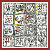 Zenbroidery - 12 Days Of Christmas Fabric Pack