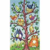 Bird Watching Cross Stitch Kit