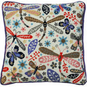 Dragonfly Tapestry Cushion Front Kit