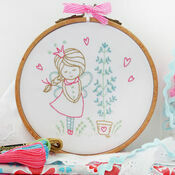 Shy Fairy Embroidery Kit